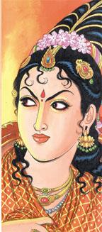 Image result for kundavai and vanthiyathevan