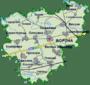 Мапа Борзнянського району