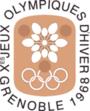 Емблема Зимових Олімпійських ігор 1968