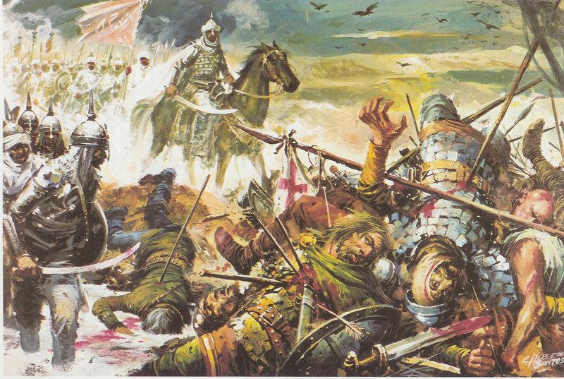 Ibn Ziyad's army against the Visigoths