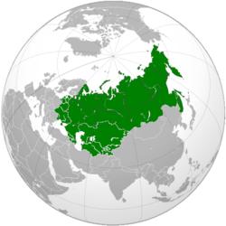 Vị trí của Liên Xô