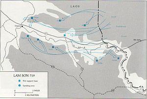 Bản đồ kế hoạch Lam Sơn 719