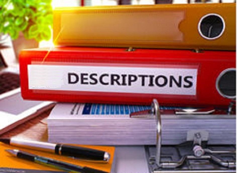 Minimum Documentation