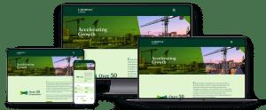 cardinal capital group responsive webpages