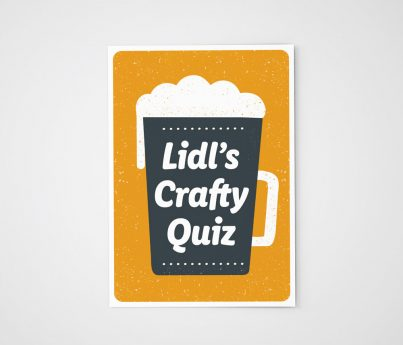 Lidl Ireland's Crafty Quiz Craft Beer Press Media Drop Image 1
