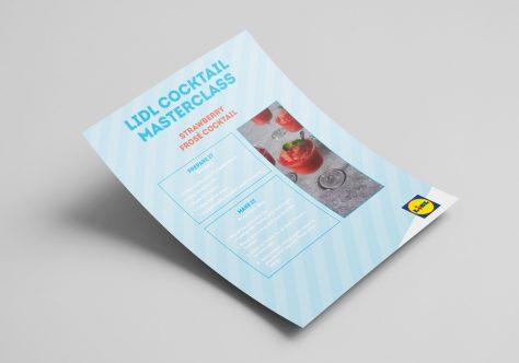 Lidl Ireland Cocktail Masterclass Recipe Cards Image 3