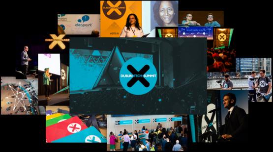dublin tech summit photo collage