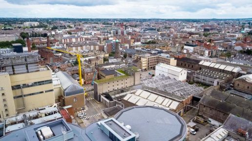 Guinness Quarter Aerial Drone Photography Image 2