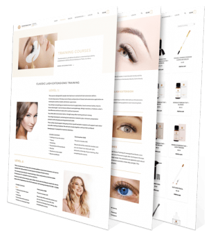 Transformations Beauty Salon and Day Spa Website Redesign by Upload Media Image 3