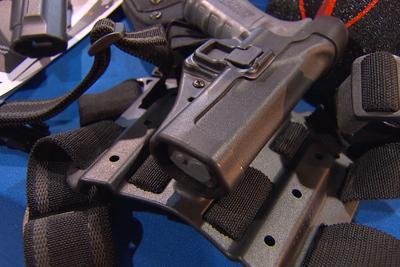 holstered firearm