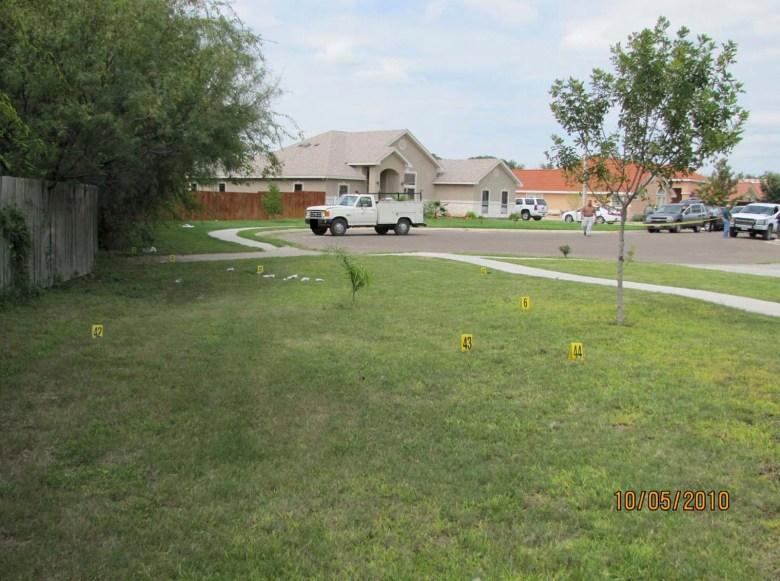 Mendez Shooting crime scene
