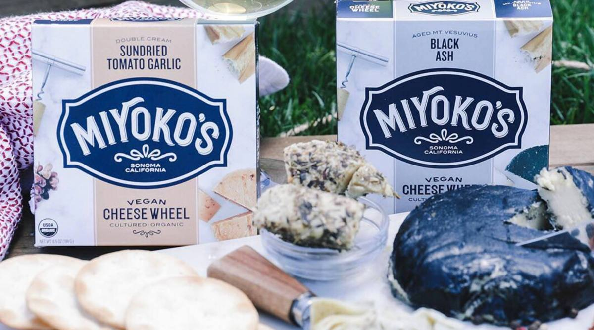 Vegan cheese from Miyoko's