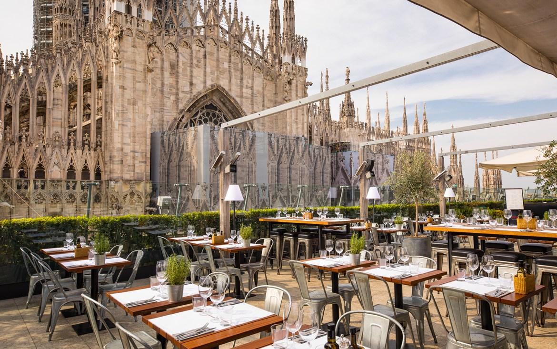 Risultati immagini per terrazza rinascente milano