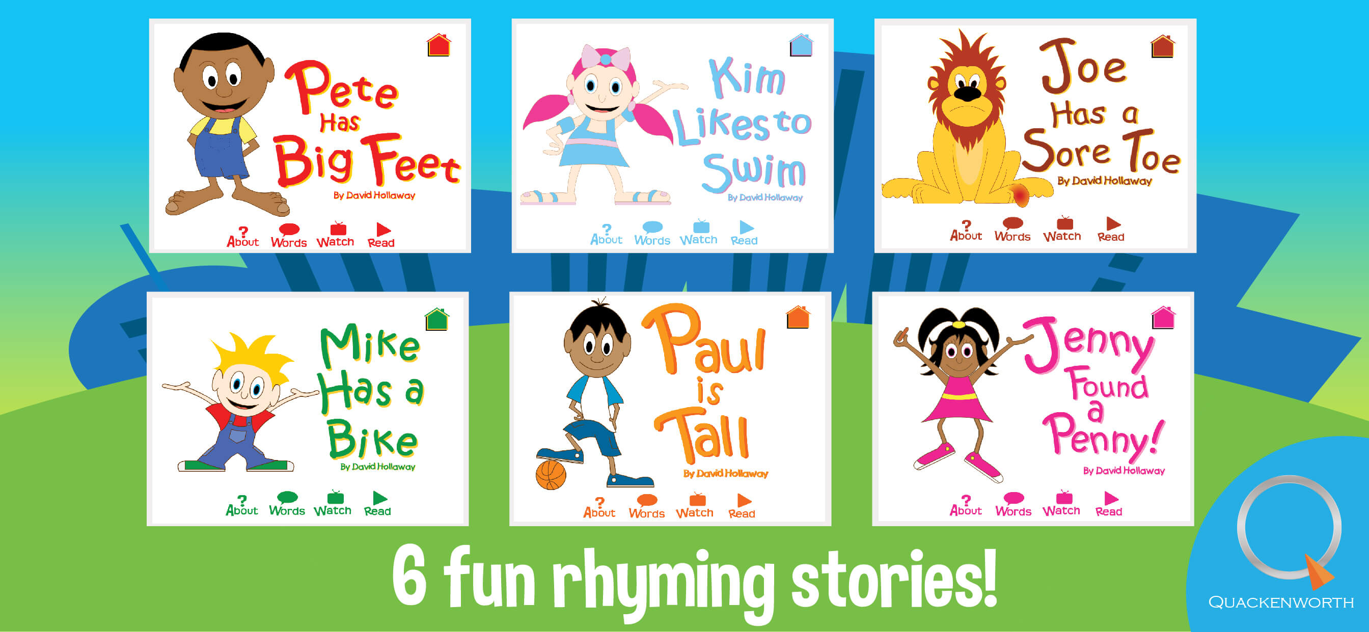 Rhyme Stores Learn To Read With Rhyming And Sight Words