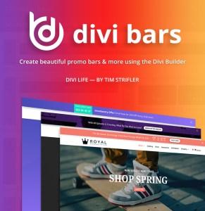 Download Divi Bars Plugins