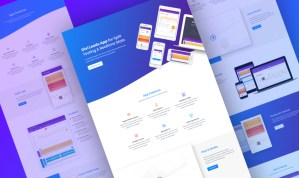Divi Product Marketing Layout