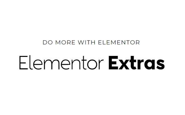 Downlaod Elementor Extras Plugin