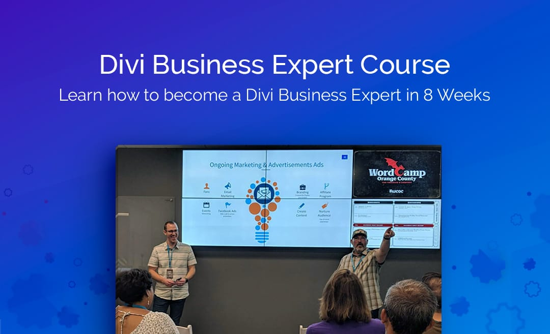 Download Divi Business Expert Course FREE