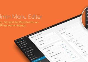 Admin Menu Editor Pro WordPress Plugin