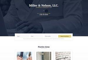 Elementorism Miller Landing Page