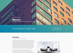 Elementorism Monaco Landing Page