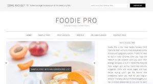 StudioPress Foodie Pro Theme