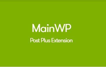 MainWP Post Plus Extension