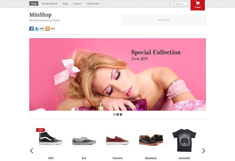 Themify Minshop WooCommerce Themes
