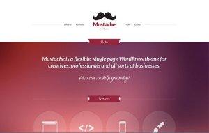 CSS Igniter Mustache WordPress Theme 1.7