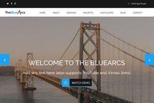 CyberChimps The BlueArcs WordPress Theme