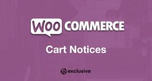 WooCommerce Cart Notices