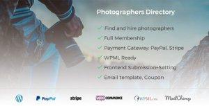 Photographer Directory – WordPress Plugin