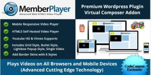 Visual Composer Addon : MemberPlayer HTML5 Video