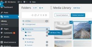 WordPress Real Media Library – Media Categories & Folders