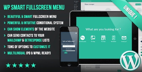 WP Smart Fullscreen Menu