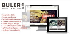 Buler – A Rugged Ecommerce WooCommerce Theme