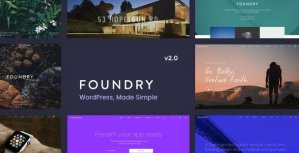 Foundry – Multipurpose Multi-Concept WP Theme