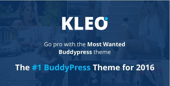 KLEO - Pro Community Focused Multi-Purpose BuddyPress Theme