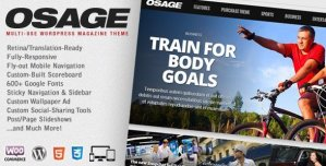 Osage - Multi-Use WordPress Magazine Theme