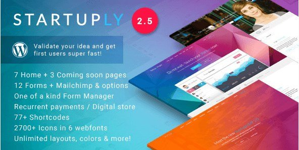 Startuply - Multi-Purpose Startup Theme