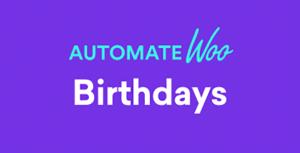 AutomateWoo – Birthdays Add-On