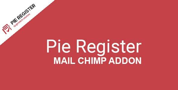 Pie Register Mail Chimp