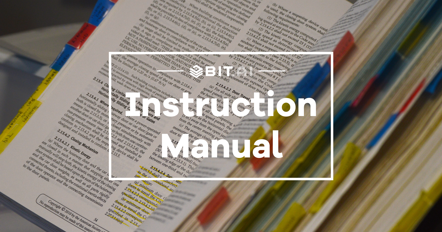 A template is something that establishes or serves as a pattern for reference. Instruction Manual Template Bit Ai