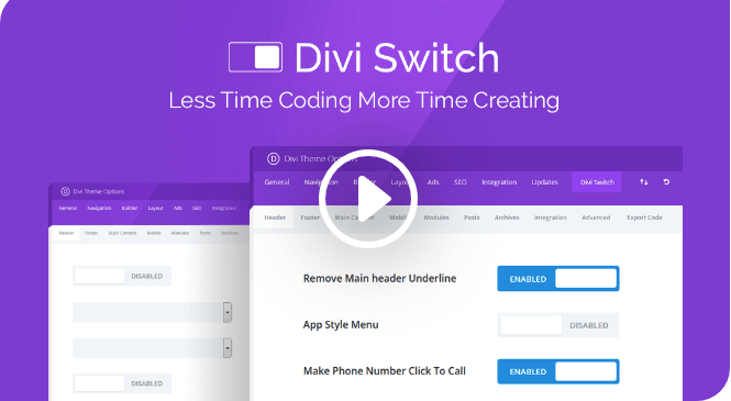 AGS: Divi Switch