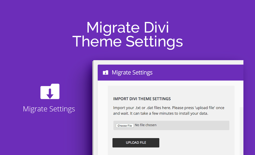 AGS: Migrate Divi Theme Settings