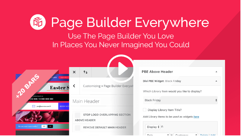 AGS: Page Builder Everywhere