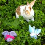 Make A Washcloth Snuggly Bunny Tiny Tails To You