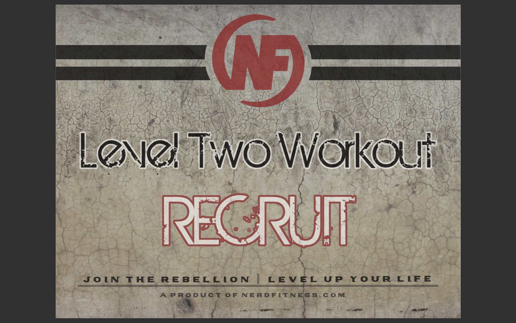 Download Level 2 workout Recruit