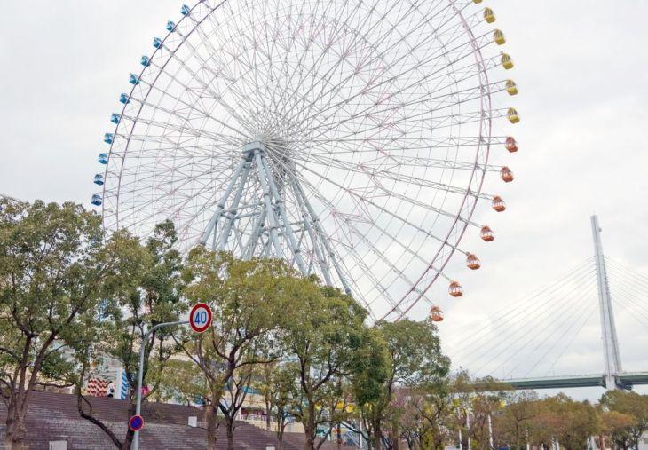The Tempozan Ferris Wheel