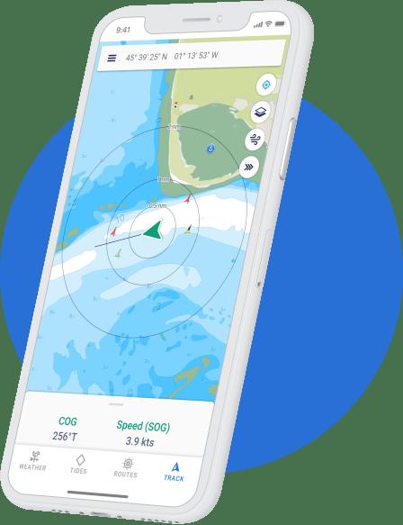 savvy navvy Seguimiento GPS en acción